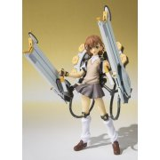 To Aru Majutsu no Index II 1/8 AGR Non Scale Pre-Painted PVC Figure: Misaka Mikoto Fully Armed Ver.