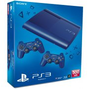 Thumbnail for PlayStation3 New Slim Console (500GB Azurite Blue Model)