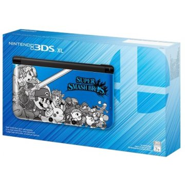 nintendo 3ds xl super smash bros edition blue nintendo us pre not yet ...
