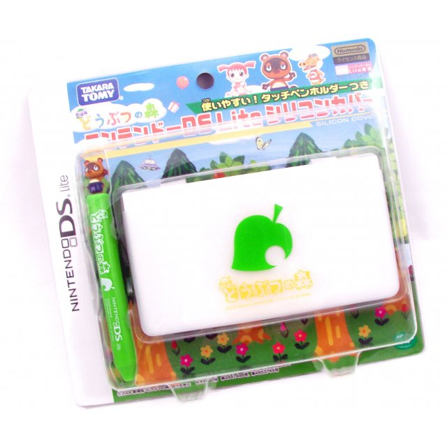 protective cover touch pen ds lite animal crossing style. Black Bedroom Furniture Sets. Home Design Ideas