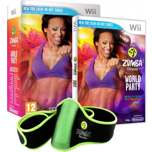 zumba fitness world party comes with one zumba fitness belt 125655.2 Zumba Fitness World Party (Comes with One Zumba Fitness Belt)