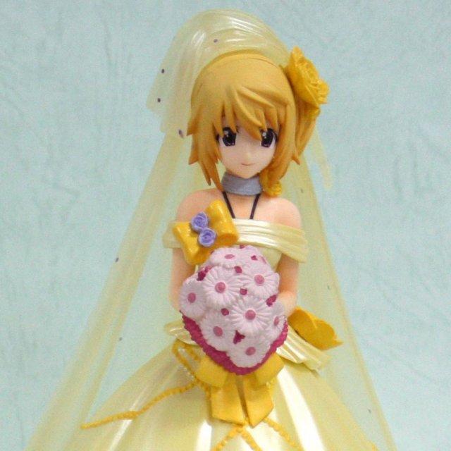 Pvc figure charlotte dunois last happy yellow wedding dress ver
